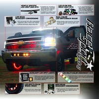"""23x23"""" Callout Slatwall Display (Chevy)-RS2323D"""
