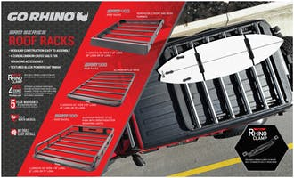 Go Rhino SRM Roof Racks Header Card-EX0324