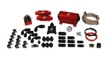 Aeromotive Fuel System 17125 A1000 System(11101 pump,13101 reg,filters,hose,hose ends,fittings,wiring kit).
