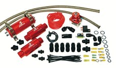 Aeromotive Fuel System 17135 Tsunami Fuel System (11103 Tsunami pump, 13109 regulator, fittings and; o-rings)