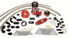 Aeromotive Fuel System 17203 A2000 Complete Drag Race Fuel System Single Carb(11202 pump, 13201 reg., lines)