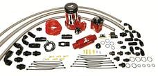 Aeromotive Fuel System 17204 A2000 Complete Drag Race Fuel System Dual Carbs(11202 pump, 13203 reg,lines)