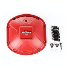 Alloy USA 11210 Aluminum Differential Cover, Dana 30, Red