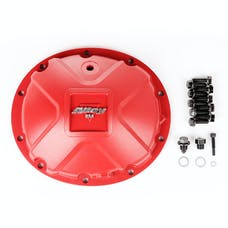 Alloy USA 11211 Aluminum Differential Cover, Dana 35, Red
