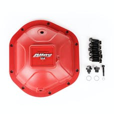 Alloy USA 11212 Aluminum Differential Cover, Dana 44, Red