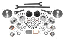 Alloy USA 12198 Manual Locking Hub Conver Kit; 84-06 Jeep Cherokee/Wrangler XJ/YJ/TJ