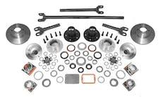 Alloy USA 12198 Manual Locking Hub Conver Kit; 84-06 Jeep Cherokee/Wrangler XJ/YJ/TJ