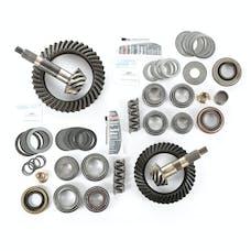 Alloy USA 360028 Ring/Pinion Kit, D30 Front - D44 Rear, 4.10 Ratio; 97-06 Wrangler TJ