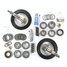 Alloy USA 360033 Ring/Pinion Kit, D44 Front - D44 Rear, 4.56 Ratio; 97-06 Wrangler TJ