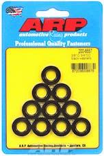 ARP 200-8557 3/8ID 3/4OD Black Washer Kit