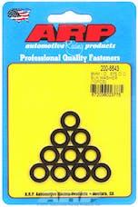 ARP 200-8643 M8 ID .575 OD Black Washer Kit
