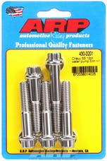 ARP 430-3201 Stainless Steel 12pt water pump bolt kit