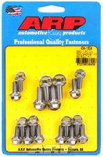 ARP 434-1804 1-pc Stainless Steel hex oil pan gasket bolt kit