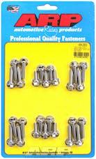 ARP 434-2302 Stainless Steel hex coil bracket bolt kit