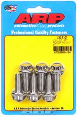 ARP 434-3101 Stainless Steel 12pt motor mount bolt kit