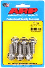 ARP 434-3102 Stainless Steel hex motor mount bolt kit