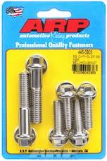 ARP 445-0903 BB Stainless Steel hex bellhousing bolt kit
