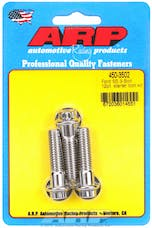 ARP 450-3502 Stainless Steel 3-bolt 12pt starter bolt kit