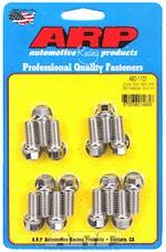 """ARP 480-1101 330-455 3/8"""" Stainless Steel header bolt kit"""