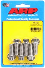 ARP 490-3101 Stainless Steel 12pt motor mount bolt kit