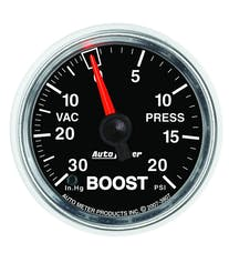 AutoMeter Products 3807 2-1/16in Boost-VAC 30 IN HG/20 PSI  Mechanical GS