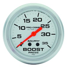 AutoMeter Products 4404 Boost  0-35 PSI
