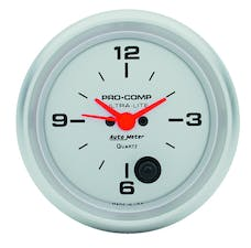 AutoMeter Products 4485 Clock  12 Volt
