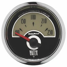 AutoMeter Products 1138 GAUGE; WATER TEMP; 2 1/16in.; 250deg.F; ELEC; CRUISER