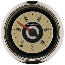 AutoMeter Products 1153 GAUGE; OIL PRESS; 2 1/16in.; 100PSI; DIGITAL STEPPER MOTOR; CRUISER