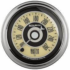AutoMeter Products 1154 GAUGE; WATER TEMP; 2 1/16in.; 260deg.F; DIGITAL STEPPER MOTOR; CRUISER AD