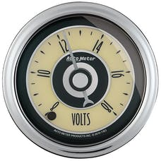 AutoMeter Products 1182 Cruiser AD Voltmeter Gauge 2 1/16 in. 8 - 18 Volts Full Sweep