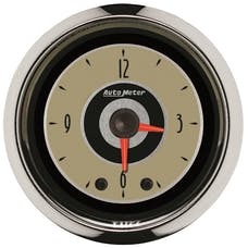 "AutoMeter Products 1185 2"" CLOCK, Illuminated, Analog, Cruiser AD"