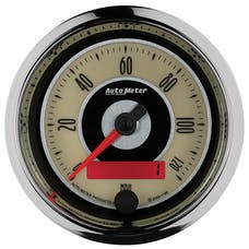 "AutoMeter Products 1186 3-3/8"" Speedo, 120 MPH, Programmable, Cruiser"