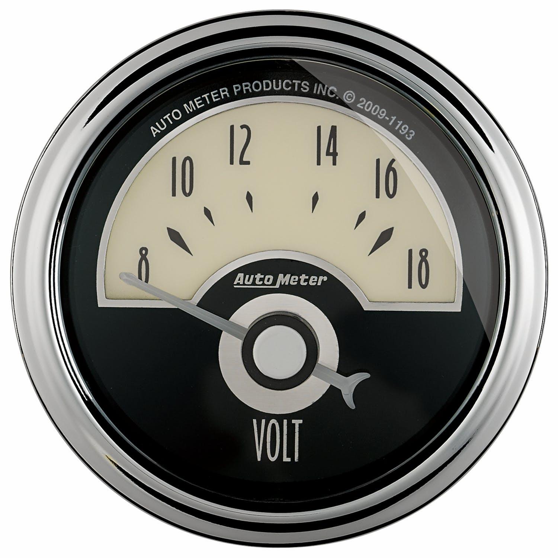 Auto Meter 12134 2-1//16 Triple Replacement Gauge Pillar