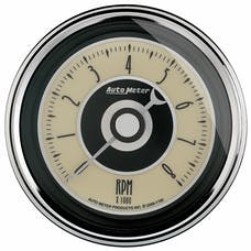 "AutoMeter Products 1195 3-3/8"" Tach, 8,000 RPM, In-Dash Cruiser AD"