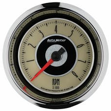 "AutoMeter Products 1196 3-3/8"" Tachometer, 8000 RPM, Cruiser"