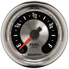 "AutoMeter Products 1209 2-1/16"" Fuel Level, Universal Stepper, AM Muscle"