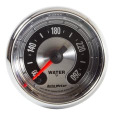 AutoMeter Products 1255 GAUGE; WATER TEMP; 2 1/16in.; 260deg.F; DIGITAL STEPPER MOTOR; AMERICAN MUSCLE