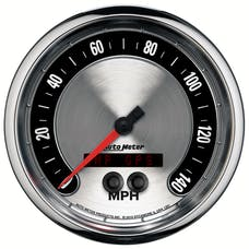 AutoMeter Products 1281 GAUGE; SPEEDOMETER; 5in.; 140MPH; GPS; AMERICAN MUSCLE