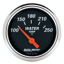 AutoMeter Products 1436 Arctic White Series Water Temperature Gauge (100-250° F, 2-1/16 in.)