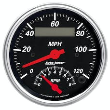 AutoMeter Products 1481 Tach/Speedo Combo 3-3/8in 8000 RPM/120 MPH