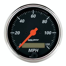AutoMeter Products 1487 3-1/8in Speedo  120 MPH Electric  DB Chrome Bzl