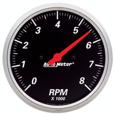AutoMeter Products 1499 Gauge; Tachometer; 5in.; 8k RPM; In-Dash; Designer Black