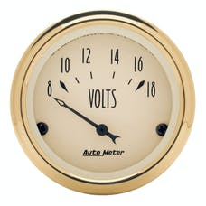 AutoMeter Products 1592 Voltmeter Gauge 8-18 Volts