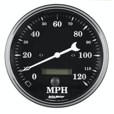AutoMeter Products 1789 Speedometer Gauge 0-120  Electric, Programable  Old Tyme Black