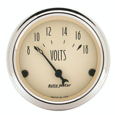 AutoMeter Products 1891 Voltmeter  8-18 Volts