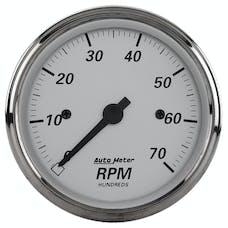 AutoMeter Products 1995 GAUGE; TACHOMETER; 3 1/8in.; 7K RPM; IN-DASH; AMERICAN PLATINUM