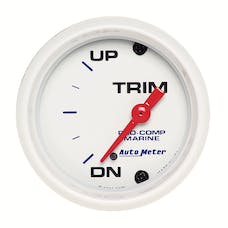 AutoMeter Products 200766 Marine Electric Trim Level Gauge