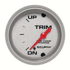 AutoMeter Products 200766-33 Marine Electric Trim Level Gauge