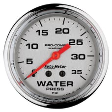 AutoMeter Products 200773-35 Marine Mechanical Water Pressure Gauge